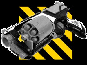 NERF Strongarm loading mechanism
